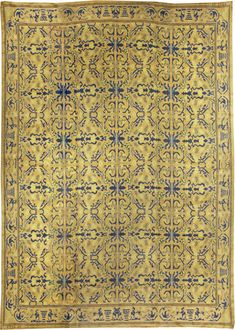 Vintage Rugs: Vintage Rug Spanish for modern or oriental interior decor living room