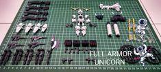 Mobile Suit Ensemble: Unicorn Full Armor Detail Parts