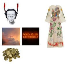 """""""I've always liked, someday the lamb will lay by the lion.... but it won't get much sleep."""" by franzii-van-rieen ❤ liked on Polyvore featuring Gucci and vintage"""