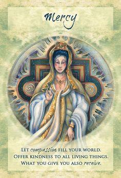 """Mercy"" Magical Times Empowerment Cards par Jody Bergsma"
