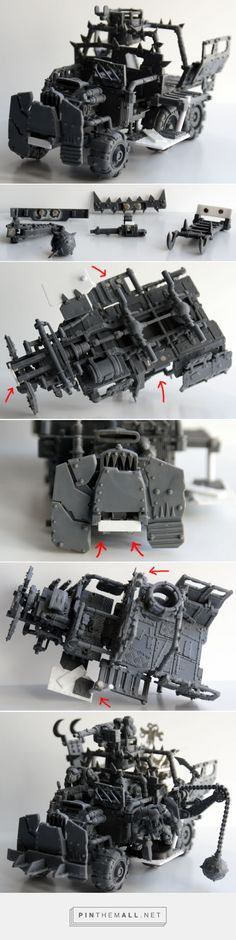 Magnetised Ork Trukk [GorkaMorka] - Pictures Inside!... - a grouped images picture - Pin Them All