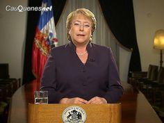 Cauquenesnet: Presidenta Bachelet anunció impugnación de Corte i...