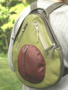 Avocado backpack - ha!
