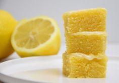 So chewy! Lemonies - Zitronig-frische Lemon-Brownies