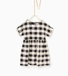 Gingham dress-DRESSES AND JUMPSUITS-Girl-Kids   4-14 years-KIDS   ZARA United States