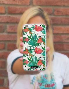 funda-movil-full-tropical-calas-2 Phone Cases, See Through, Tropical Prints, Mobile Cases, Calla Lilies, Phone Case