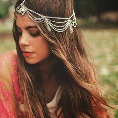 Image of Bohemian beaded hippie gypsy headband as my gift