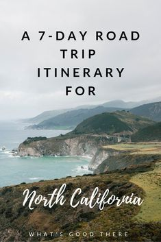 My Northern California Road Trip Itinerary roadtrip california californiatravel bigsur pacificcoasthighway travelguide traveltips Northern California Travel, Visit California, California Road Trips, California Destinations, California California, Big Sur, Pacific Coast Highway, Destination Voyage, Road Trip Hacks