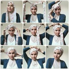 How to tie a chemo cancer scarf? - Fashion advice around the scarf, how to tie a cancer scarf after chemo, advice of chemo scarf knot and hair loss. Turban Hijab, Turban Mode, Turban Tutorial, Hijab Style Tutorial, Head Scarf Tutorial, Hair Wrap Scarf, Hijab Stile, Scarf Knots, Head Scarf Styles