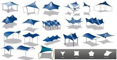 Wide rage of tensile membrane structures for outdoor shade structures. Choose shapes from Triangle, Rectangle, Squre, Hexagon, Octagon to custom with choice of your color and sizes. Visit http://www.sprechindia.com/tensile-membrane-fabric-structures.htm for more...