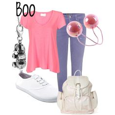 Boo, created by sydney-emerson on Polyvore