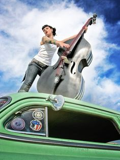 To do: learn to play upright bass. (Again with the enterprises doomed to failure... still, what's life without an insurmountable challenge or two?)