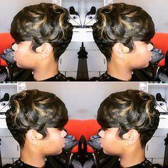 The Cut Life thecutlife Love Hair, Gorgeous Hair, Short Hair Cuts, Short Hair Styles, Short Pixie, Locks, Sassy Hair, Hair Game, Pretty Hairstyles