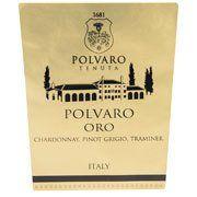 Tenuta Polvaro Oro 2013 from Veneto, Italy - Chardonnay, Pinot Grigio, Verduzzo, and Traminer are combined to offer refreshing fruit flavors of honeydew, apricot, ...