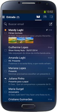 Yahoo Mail - Conheça o aplicativo multifuncional de email do Yahoo.
