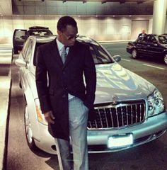 P. Diddy's Luxury Maybach.