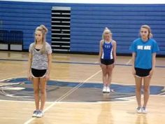 Cheer tryout dance - YouTube
