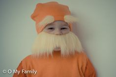 o my halloween: lorax costume tutorial