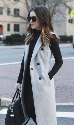 Classy Winter Work Outfits Ideas for Women 2019 – Work Fashion Fashion Mode, Work Fashion, Trendy Fashion, Womens Fashion, Classy Fashion, Trendy Style, Fashion Black, Trendy Hair, Winter Fashion