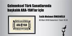 """RT @itasarimmerkezi: #İstanbul Tasarım Merkezi'nde """"Fatih Mehmet Ömeroğlu ile #Geleneksel #Türk #Sanatlarında başkalık ARA-YANlar için"""" programı 03 Mart 2018 Cumartesi Saat 10.30da. Kayıt için;https://t.co/Y3c0GaRSMs  #GelenekselTürkSanatları #sanat #art #design #Tasarim #istanbuldesigncenter #itm https://t.co/eVxyN95XOC"""