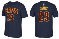 NEW ! Lebron James the Return Cleveland Cavaliers official navy jersey name and number t-shirt by Adidas  http://shop.collectiblesetcwv.com/products/new-lebron-james-the-return-cleveland-cavaliers-official-jersey-t-shirt-by-adidas