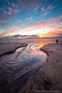 Horton Plaza – Downtown San Diego, Sunset Cliffs – Ocean Beach, Anza-Borrego Desert State Park