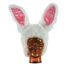 Disney Alice in Wonderland White Rabbit Hat, Costume Hats, Costume Accessories, Costumes, Accessories & Jewelry, Party Supplies - Oriental Trading