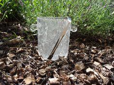 IITTALA Eiskübel Eisbehälter Kristall mit Eiszange