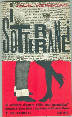 i Sotterranai (The Subterraneans) • Jack Kerouac #book #cover [Italy, '73 printing]
