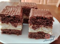 Fantastická šťavnatá buchta z cukety bez mouky   NejRecept.cz Tiramisu, Food And Drink, Ethnic Recipes, Tiramisu Cake