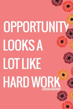 hard work vs luck essay