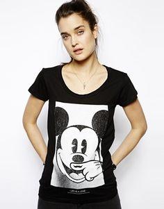 Eleven Paris Mickey Mouse Moustache T-Shirt