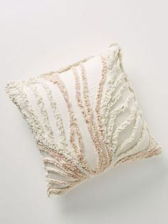 Anthropologie Tufted Milo Pillow Boho Pillows, Throw Pillows, Surf Room, Anthropologie Home, Flat Shapes, Mermaid Blanket, Crochet Patterns For Beginners, Modern Spaces, Cheap Furniture
