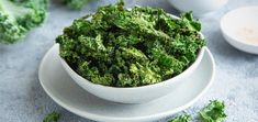 Churn out a batch of crispy, kale chips in a matter of minutes! They are simply seasoned and a great alternative to unhealthy chips.