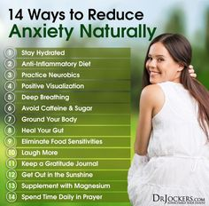14 Ways to Reduce Anxiety Naturally - http://DrJockers.com More