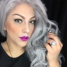 #weirdhairstyles Ideas -  Long #HairStyles #gothhairstyles with #growme shampoo #halloween #halloweenhair #halloweenhairstyles