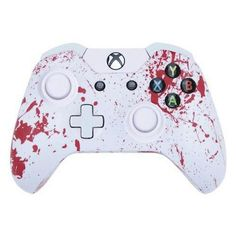 ModFreakz® Shell Kit Hydro Dipped Red Blood Splatter For Xbox One Model 1537 ControllersPerfect gaming accessories for Xbox One gamers, gamer girls, gamer couple and to those who are looking for gamer gift ideas. #XboxOne #ModFreakz #gamers #gaming #controllers #diy #accessories