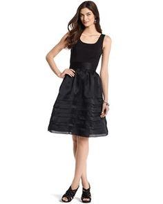 possible bridesmaid dress?Faille/Organza Dress - White House | Black Market
