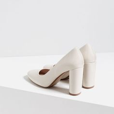 Image 5 of PATENT FINISH HIGH HEEL SHOES from Zara