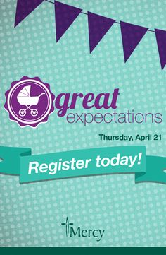 Are you newly #expecting or planning to start a #family? Great Expectations is for you!  Join us for this FREE event where you can get prepared for having a #baby.