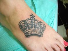 Crown tattoo. I want one but not sure where at yet