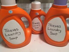 Make it Monday Thieves Laundry Soap- Young Living - YouTube