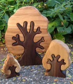 31 Ideas for woodworking gifts for her handmade wooden toys Wooden Projects, Woodworking Projects Diy, Wooden Crafts, Handmade Wooden Toys, Natural Toys, Kids Wood, Wood Tree, Wooden Animals, Wood Creations