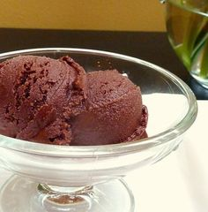 Chocolate Cardamom Sorbet recipe from Food52  yum yum have to try