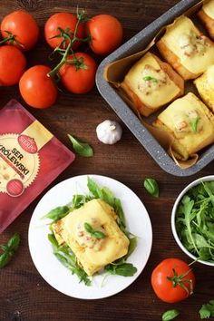 Zapiekane naleśniki z mięsem mielonym i warzywami - Po Prostu Pycha