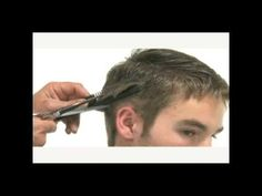 """How To: Men's """"Classic"""" haircut -  give ANY guy this haircut and his attraction points go up."""