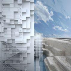 GM Architects present Museum of Civilizations at Venice Biennale// Biennale, GM Architects, #Lebanon, #Museum