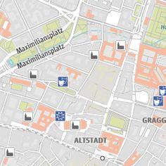 Interaktiver Stadtplan der Landeshauptstadt München. Ein Service von muenchen.de - das offizielle Stadtportal.