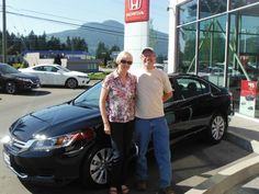 Congratulations Marg and Don! Lovely looking Accord. Enjoy your travels.