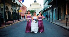 Celebrate your wedding at the Bourbon Orleans! http://www.bourbonorleans.com/wedding-packages